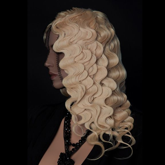 Matrix Mannequin Mania Competition. Another View of the Finger Wave's. Avant Garde Hair. Texture/Waves.