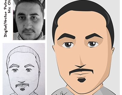 "Check out new work on my @Behance portfolio: ""Digital / Vector Portrait"" http://be.net/gallery/38432195/Digital-Vector-Portrait"
