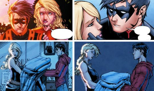 tim drake and cassie sandsmark relationship