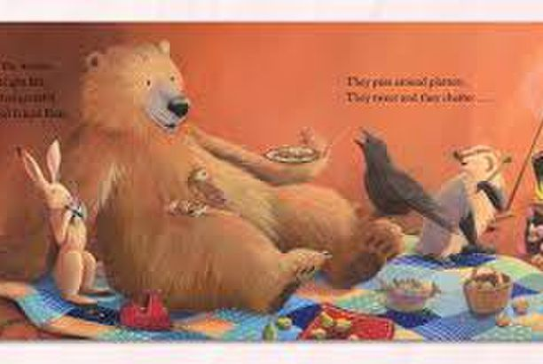 Bear Says Thanks by Karma Wilson illustrated by Jane Chapman