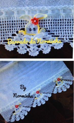 OFICINA DO BARRADO: Croche - Tema : Páscoa ...