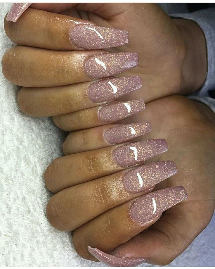 A MUST TRY! Pretty nail art. Is this glitter acrylic? Love this!! #nailart