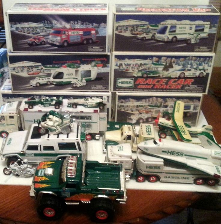 12 best History of Hess Trucks images on Pinterest   Hess toy ...