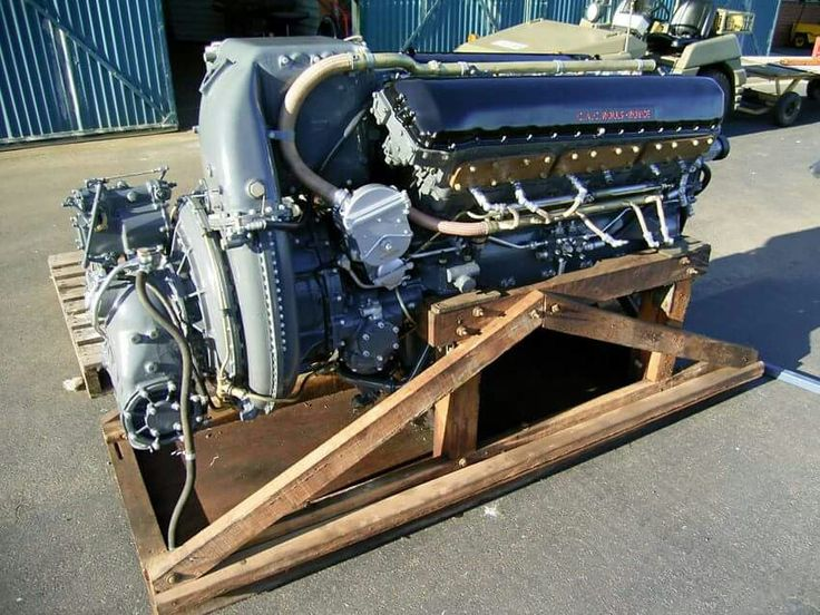CAC Roll Royce Merlin 102 Aircraft Engine