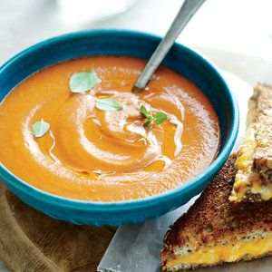 Creamy Roasted Tomato Soup   | MyRecipes.com