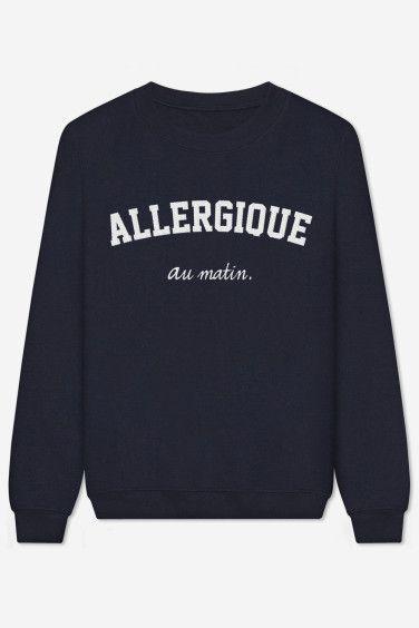 Allergique Au Matin - brodé