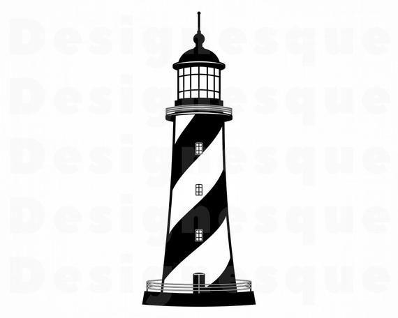 Lighthouse 5 Svg Lighthouse Svg Nautical Svg Lighthouse Etsy Lighthouse Clipart Simple House Drawing Lighthouse