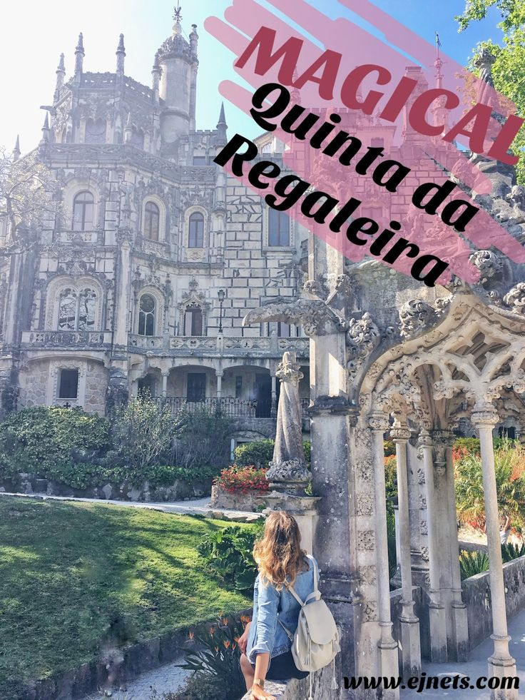 My travel tips and general info about one of the most magical place near Lisbon, Quinta da Regaleira. www.ejnets.com #traveltips #blogger #lisbon #sintra #quintadaregaleira #travel #tips #nomad