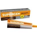 Pegamento Supergen tubo.  Cola de contacto para uniones resistentes, flexibles y duraderas. Indicada para trabajos de bricolaje y reparación.