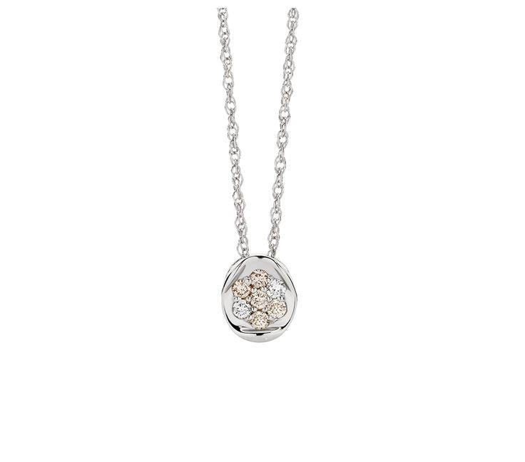 Dreamtime 0.15ct TDW Argyle Diamond Pendant on 45cm Chain, Pendants, SJ2977