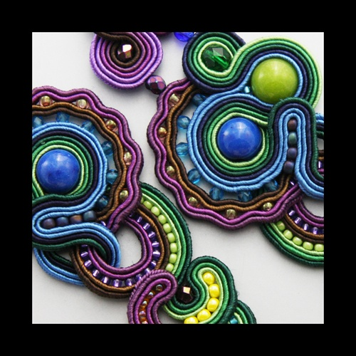 soutache lianna - a special kind of decorations for  purses or coats.