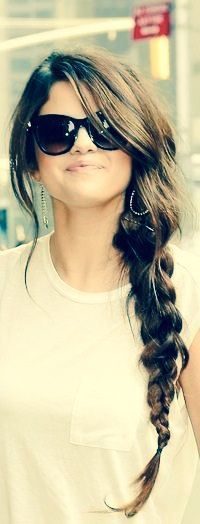 Selena Gomez. Simple but cute.