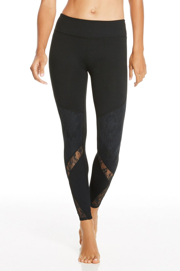 These lace detailed leggings are a must-have essential for ...