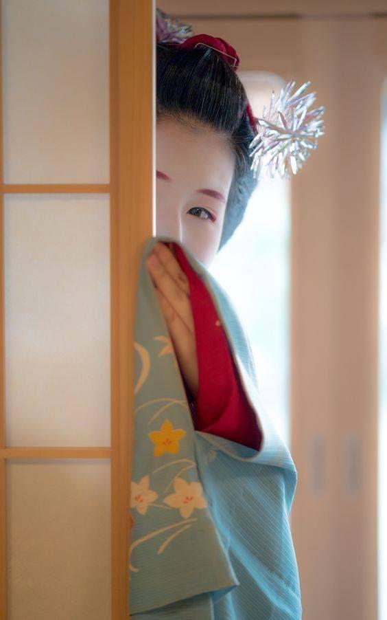 Geisha secret garden