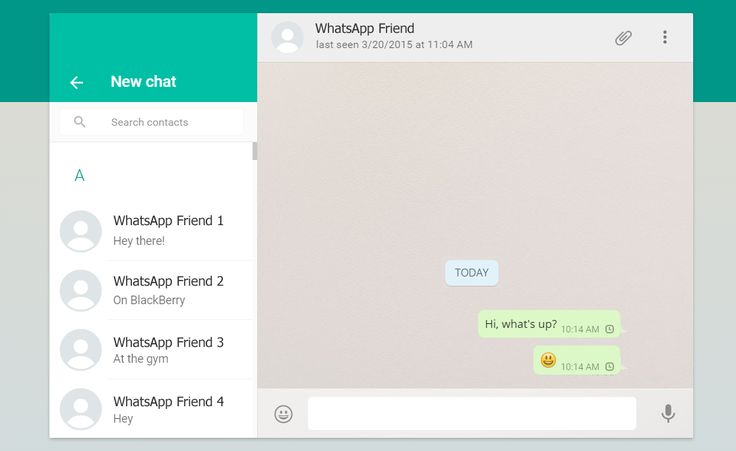 How to use Messengers: WhatsApp Online Version