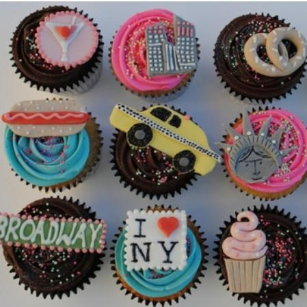 Cupcakes + NYC = Perfection