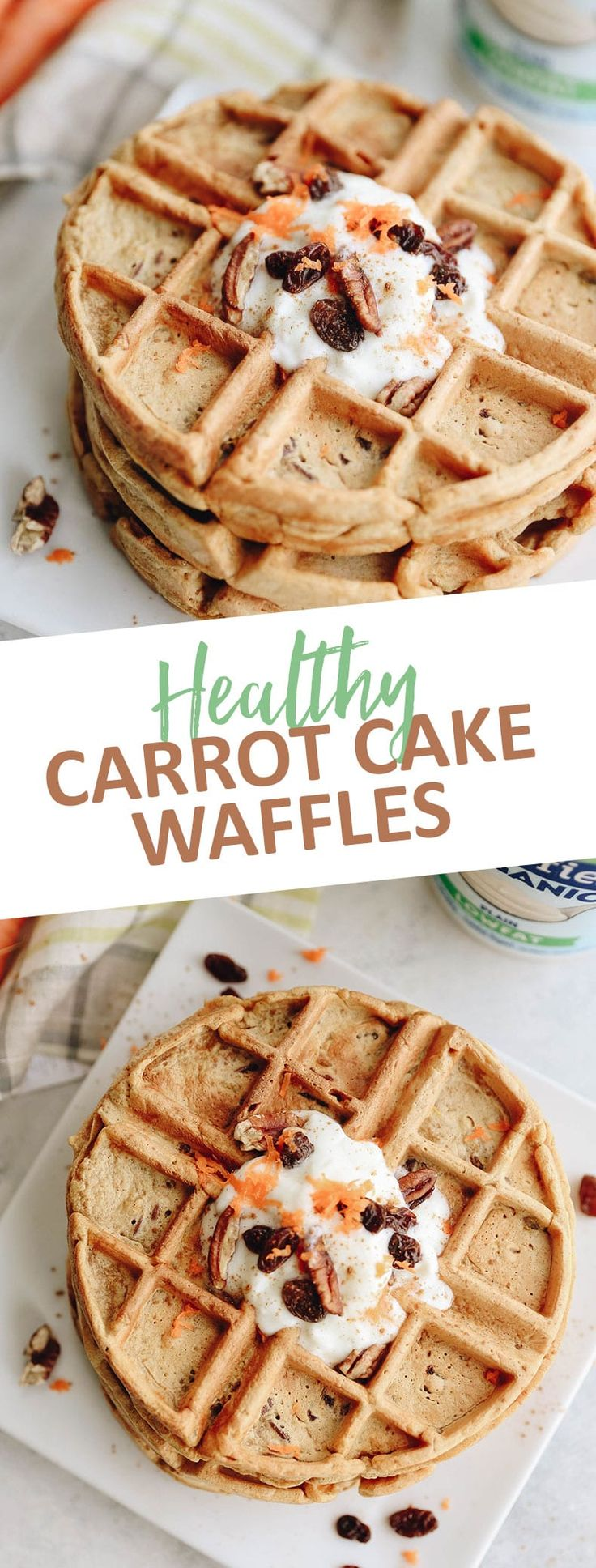 Start your day off on the right foot with these healthy carrot cake waffles. Made with delicious and nutritious ingredients for a healthy breakfast or...