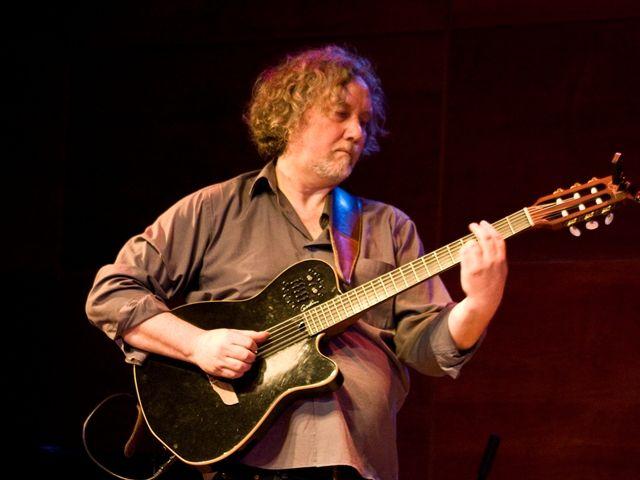 Vladimir Groppas en el Encuentro de Guitarra Eléctrica 2014 ¡Maestro! :)