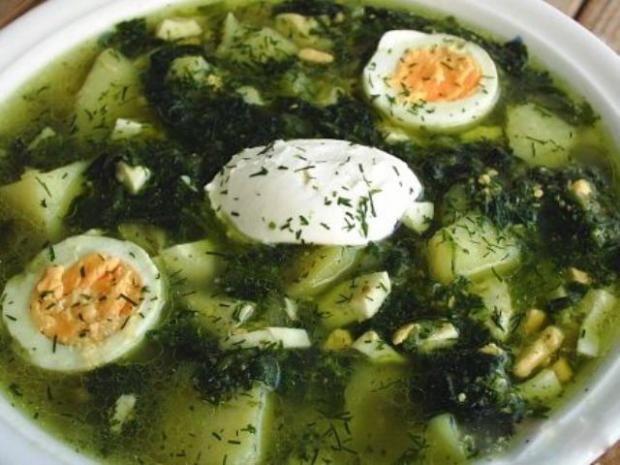 Суп говяжий с фасолью