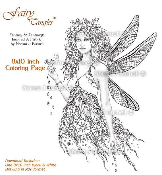 379 Best Fairy Tangles Images On Pinterest