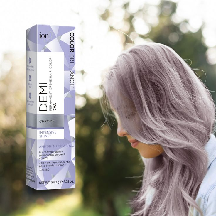 Do you love our Chrome color?   ion™ Color Brilliance™ Demi Permanent Crème Hair Color in Chrome has a new look, but don't worry it's the same formula you know and love.