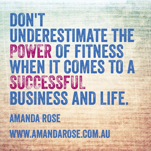 Fitness and business go hand in hand. Strong body, strong mind. #fitforlife