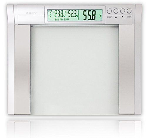 Bathroom Scale Décor | Red Rock Extra Wide Platform 5in1 MultiFunction Body Fat Bathroom Scale high capacity -- Continue to the product at the image link. Note:It is Affiliate Link to Amazon.