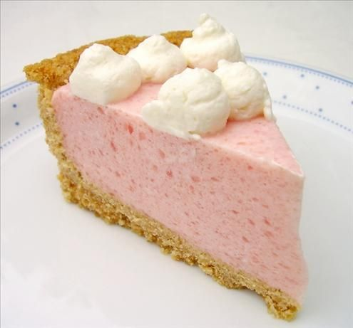 Watermelon Chiffon Pie Recipe ~ luscious!