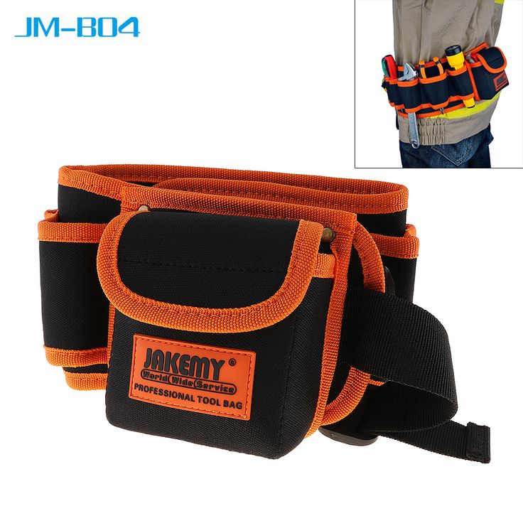 sale jakemy jm b04 multi function durable electrician mechanic canvas tool bag utility kit with #electricians #tool #pouch