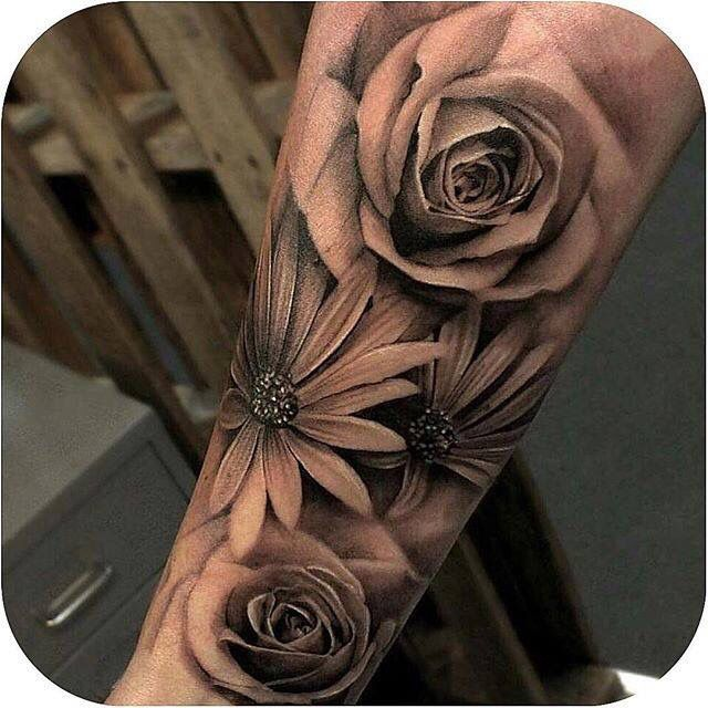 Love the look of these Daisy's to add to my arm