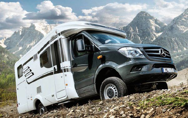 Honda Element Conversion >> The Hymer ML-T camper may not have stunning lines but it rests on an all-wheel drive (AWD ...