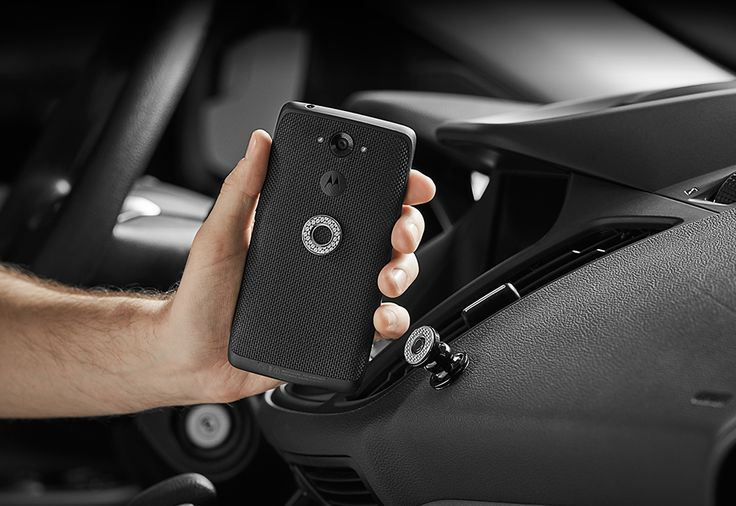 World's Smallest Smartphone Dash Mount @ Sharper Image