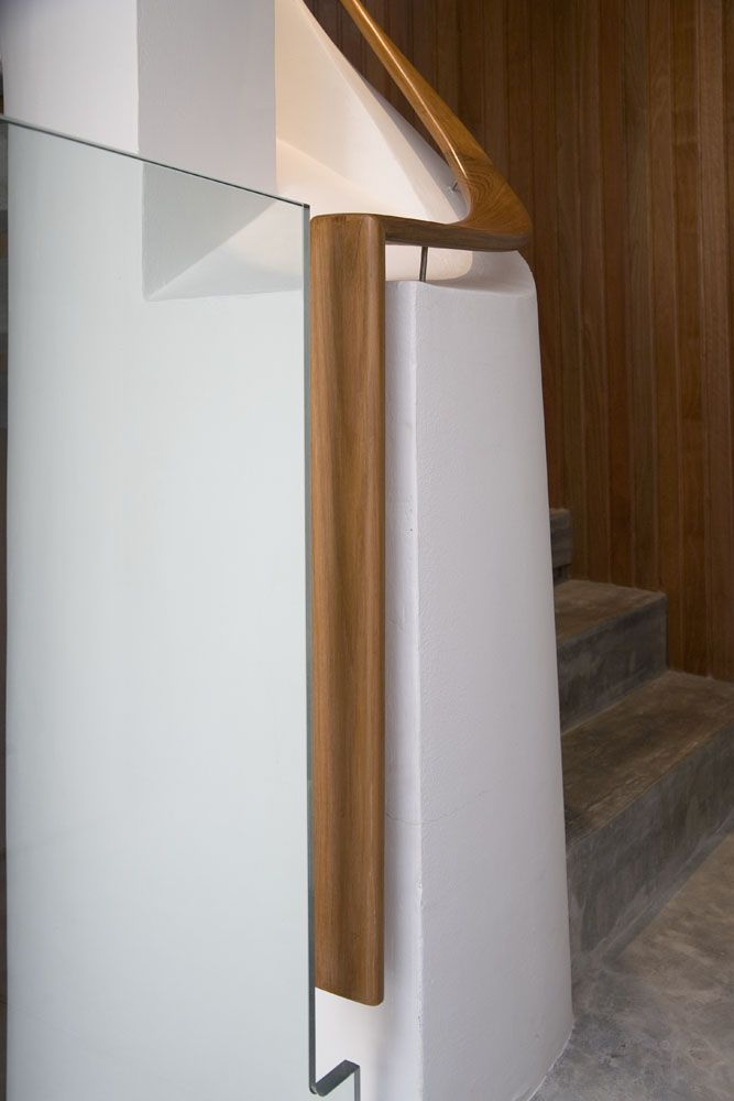 Timber Handrail detail