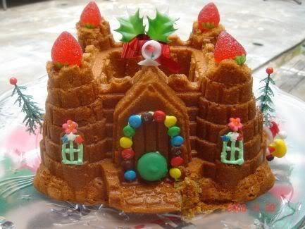Decorate Castle Bundt Cake