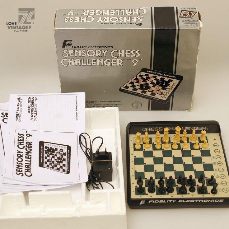 Fidelity CHESS CHALLENGER 9 / OVP / elektronischer Schachcomputer 1982 / Vintage in Spielzeug, Spiele, Schach | eBay