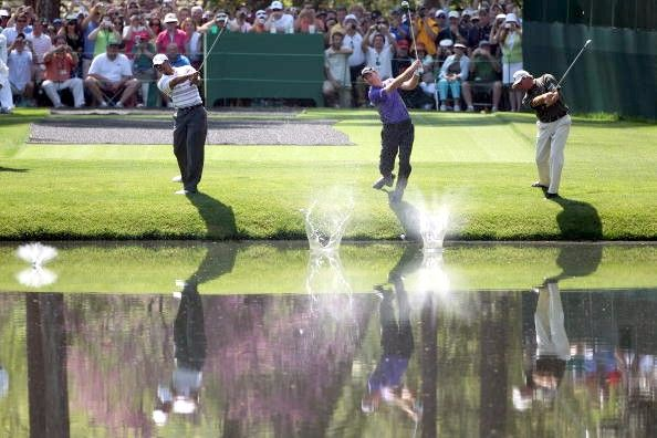 Skipping the Ball at The Masters