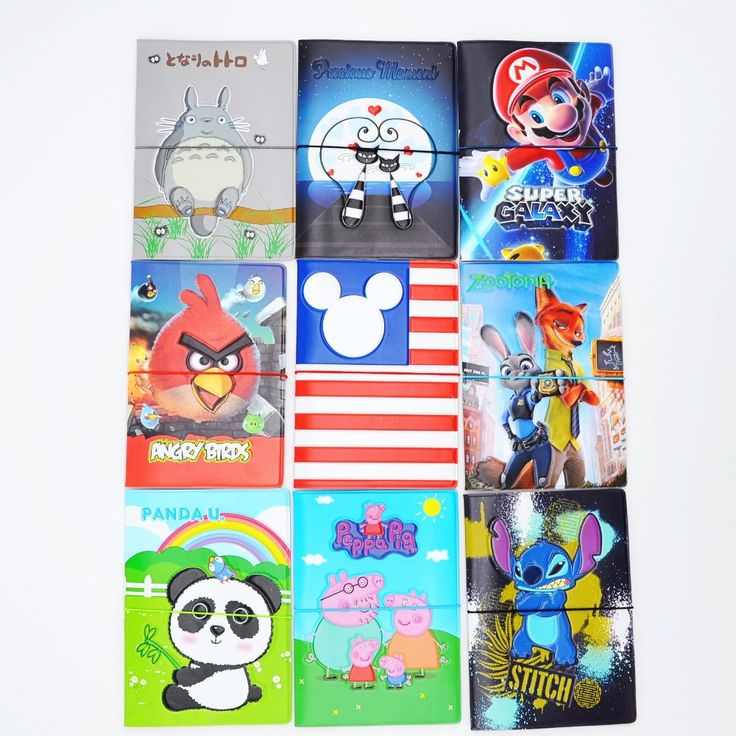-2016 Lovely cartoon  Patterns Passport Holder Cover Identity Document Folder Travel,17 kinds Pattern case  for choose ** Find out more by clicking the image