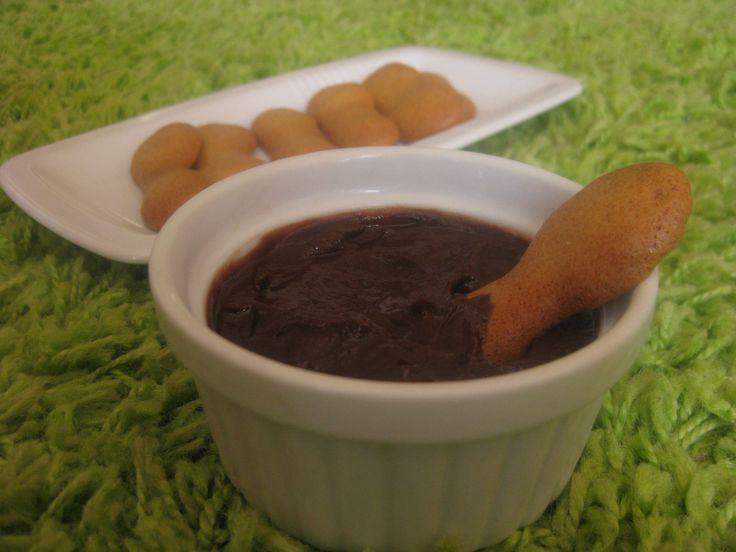 babapiskóta csokikrémmel