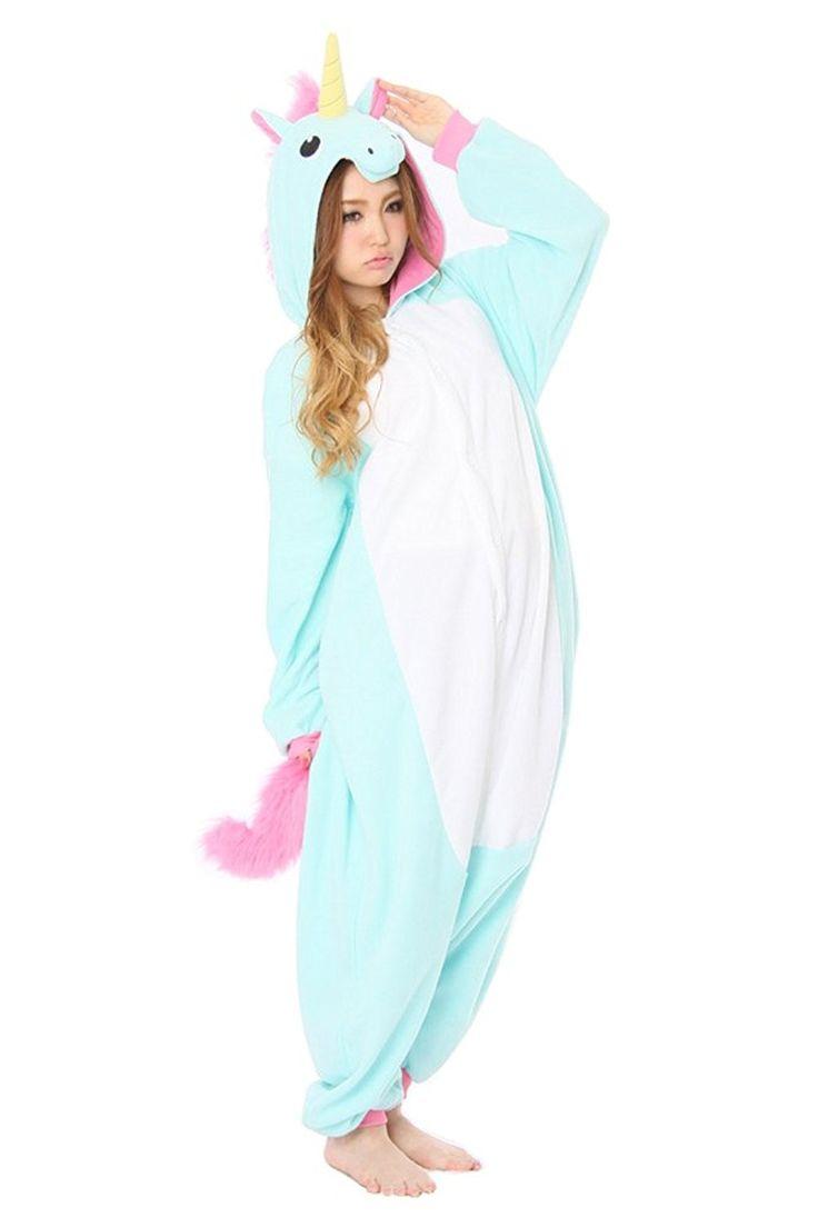 Cliont Animal Licorne Pyjamas Kigurumi Sleepwear Nightclothes Costume Anime Cosplay Christmas Unicorn Onesie: Amazon.co.uk: Clothing