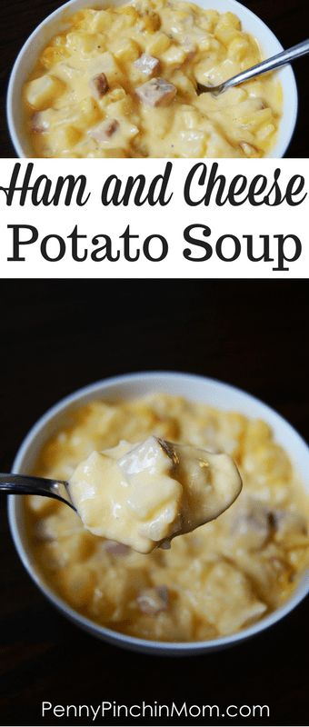 This ham and cheese potato soup is the perfect com…Edit description