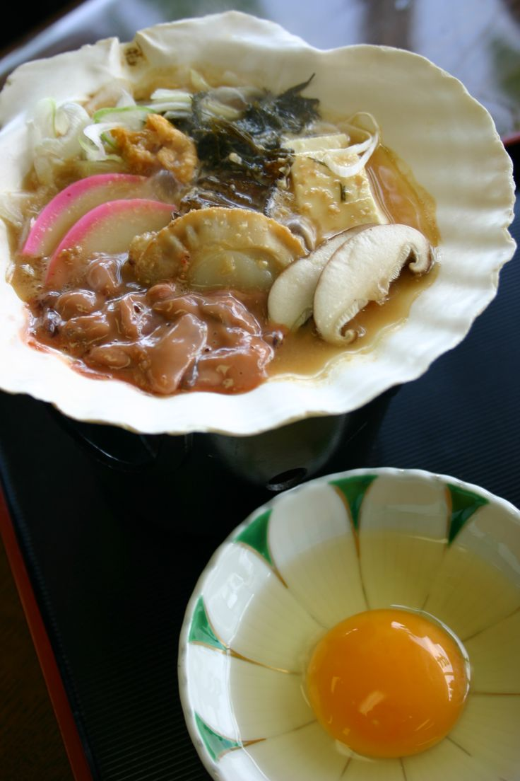 むつ市・味噌貝焼き