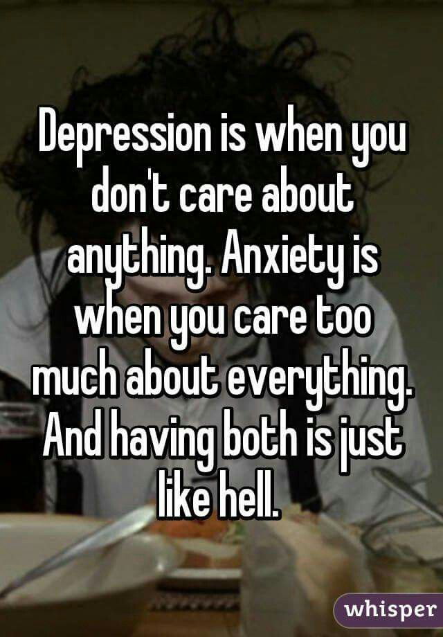 Truth about depression and anxiety | Quotes | Pinterest ...