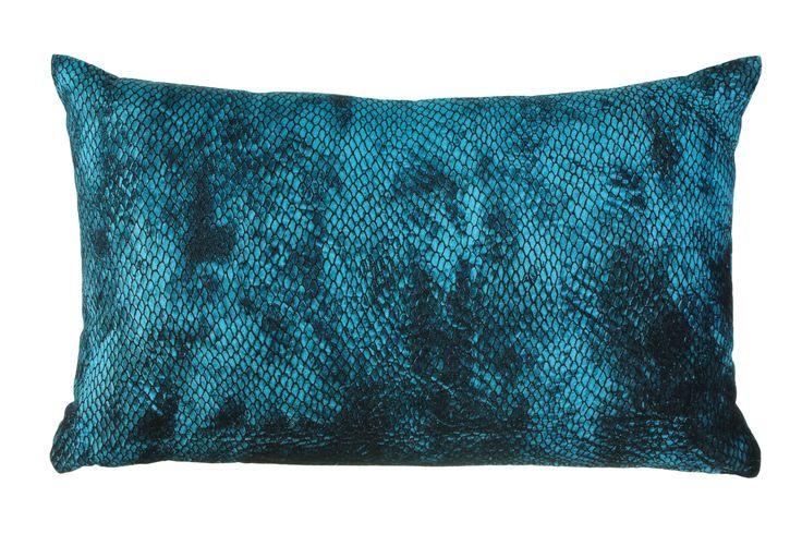 Sierkussen KAAT Lagoon Bluegreen - NIEUWE COLLECTIE | Cushion KAAT |  http://www.livengo.nl/beddengoed/sierkussens | #sierkussens #blauwgroen #interieur #livengo