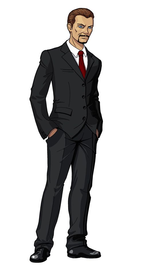 deviantart businessman business character cartoon anime characters solar rpg suits dnd shadowrun random figure mens