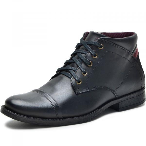 Sapatotop com bota casual e sapato preto Sapatotop com sapato preto – Detalhes do Produto …   – Sapatos Masculinos
