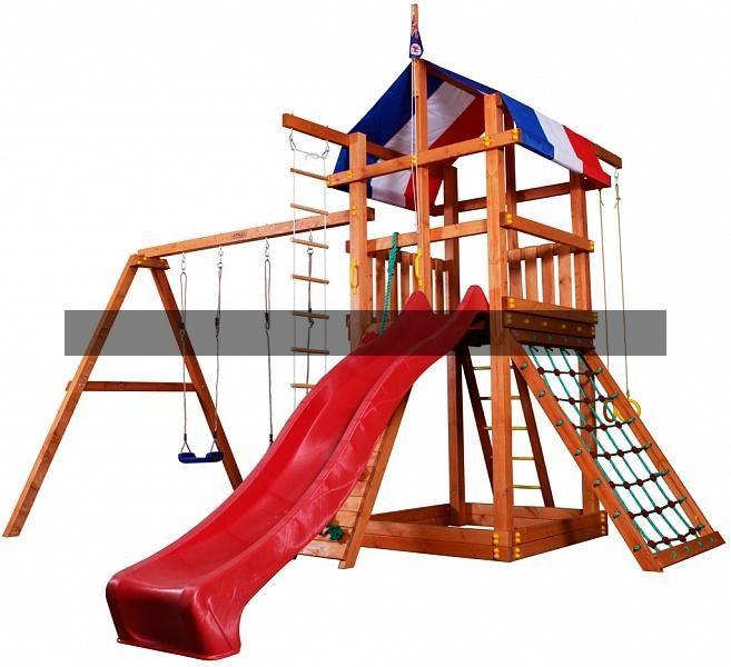 """Детская деревянная площадка """"Тасмания"""""""