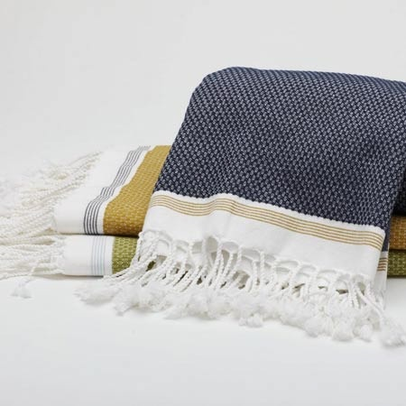 I pinned this Mediterranean Bath Sheet from the Coyuchi event at Joss and Main!