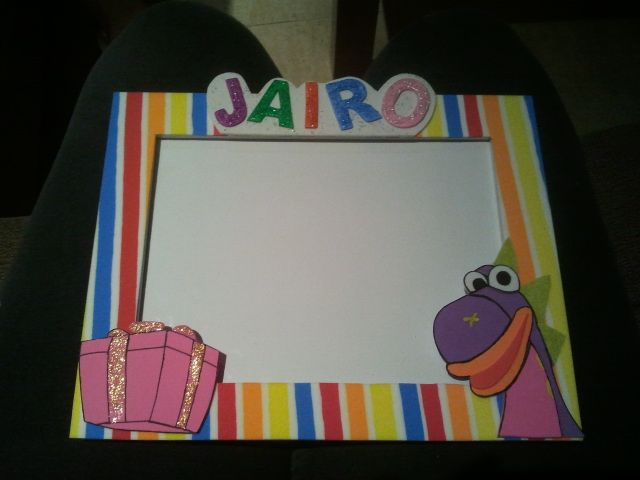 Marco personalizado BIBO DRAGON