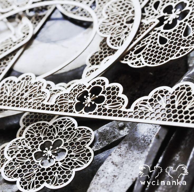 Wycinanka's lasercut laces