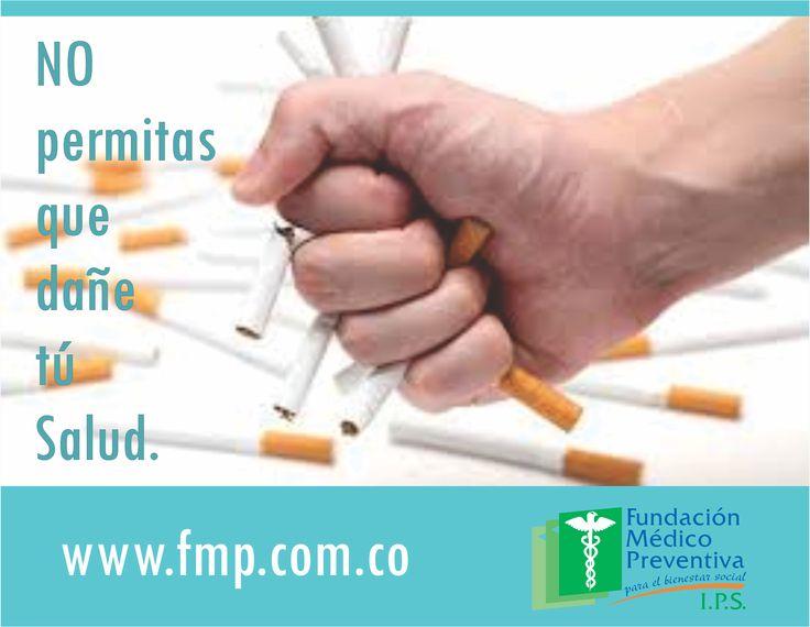 el #tabaco daña tu #salud